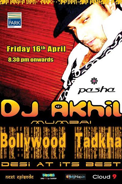 DJ Akhil Talreja at Pasha on April 16th 2010