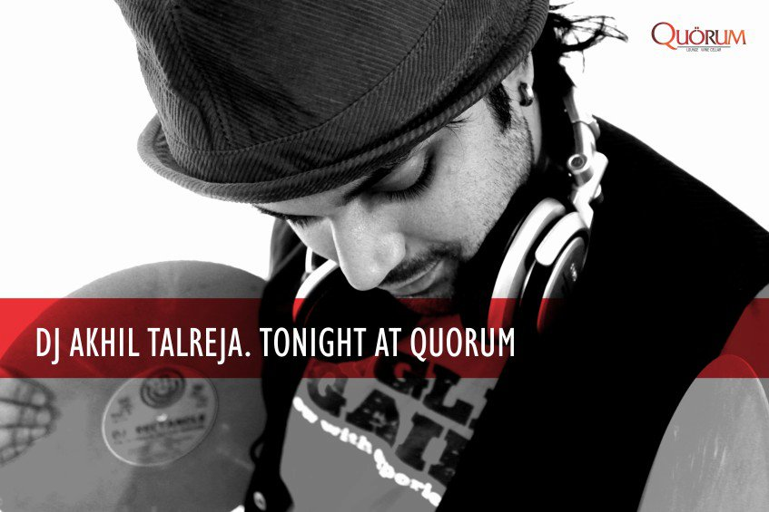 DJ Akhil Talreja at Quorum, Indore on July'11