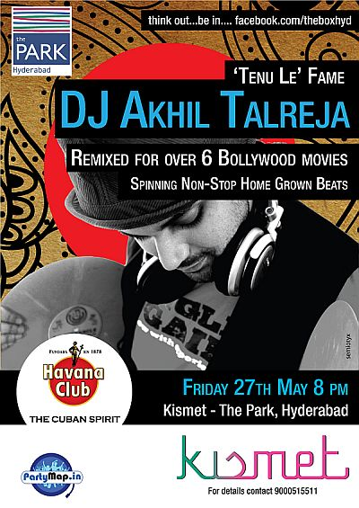 DJ Akhil Talreja at Kismet on 27th May'11